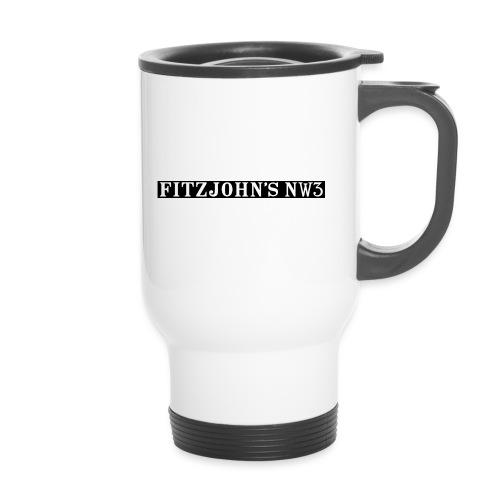 Fitzjohn's NW3 black bar - Travel Mug