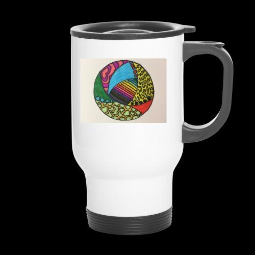 circle corlor - Termokrus med bærehåndtag