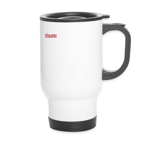 Branoul Logo rood wit - Thermo mok
