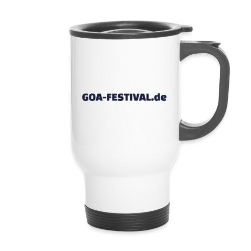 Goa Festival Produkte - Thermobecher mit Tragegriff
