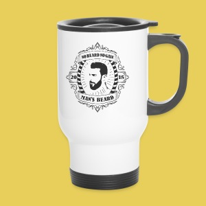 No Beard No Pain - Mug thermos