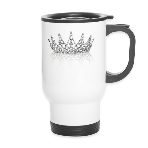 Queen Crown design - Travel Mug