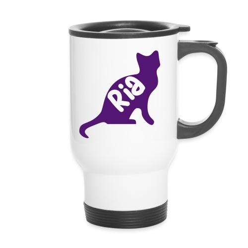 Team Ria Cat - Thermal mug with handle