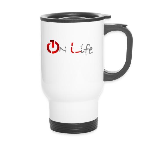 OnLife Logo - Tasse isotherme avec poignée