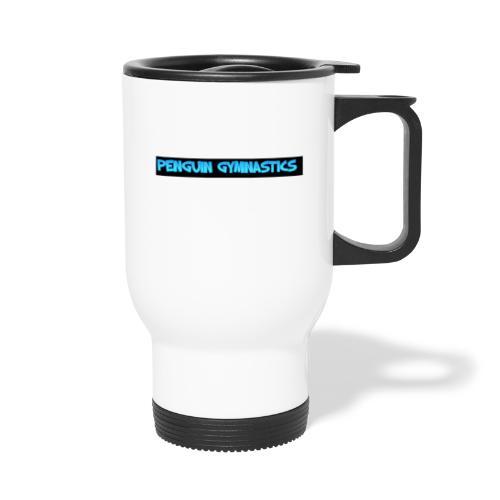 The penguin gymnastics - Travel Mug