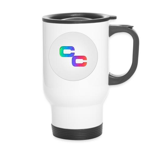 Callum Causer Rainbow - Travel Mug