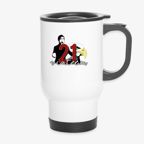 Vinte Um - Thermal mug with handle