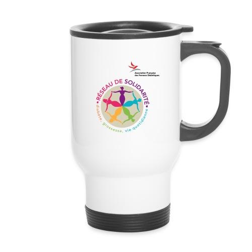 affd visuel identitaire avec logo - Mug thermos