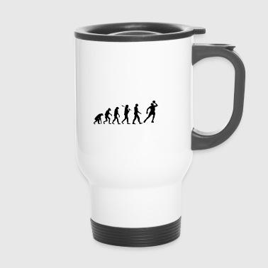 basket-ball cadeau évolution 3 - Mug thermos