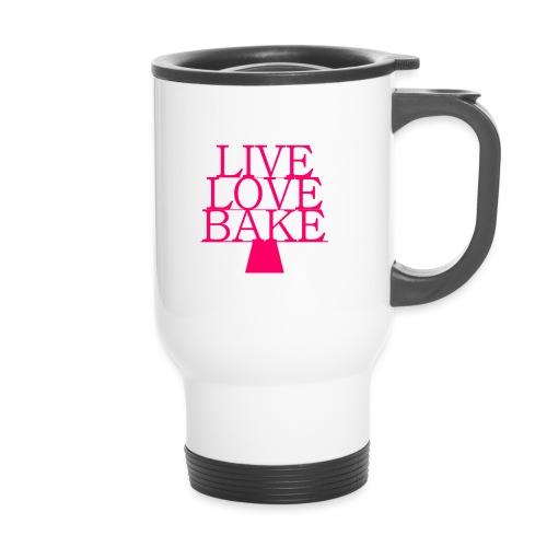 LiveLoveBake ekstra stor - Termokrus med bærehåndtag