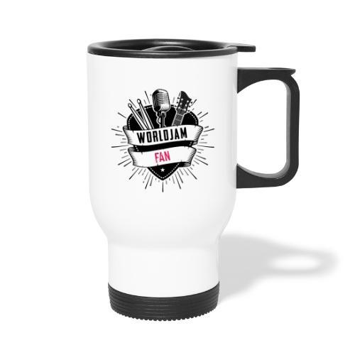 WorldJam Fan - Thermal mug with handle