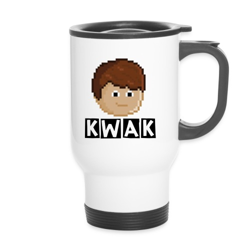 kwaklogo png - Thermal mug with handle