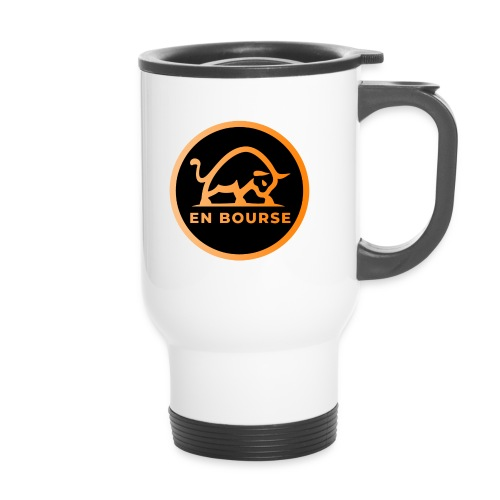 bull with enbourse in cir - Mug thermos
