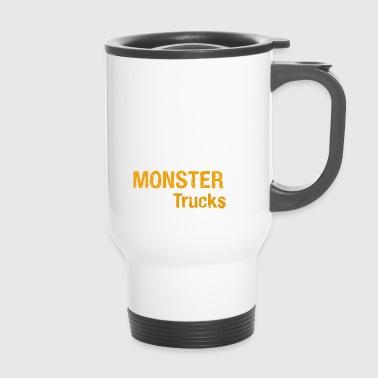 J'adore Monster Trucks - Mug thermos
