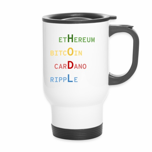 HODL color - Mug thermos