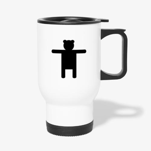 Epic Ippis Entertainment logo desing, black. - Travel Mug