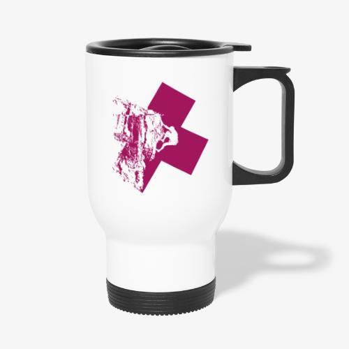 Climbing away - Thermal mug with handle