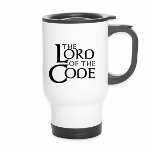The Lord of the Code - Kubek termiczny