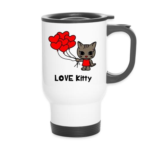 LOVE KItty - Thermobecher mit Tragegriff