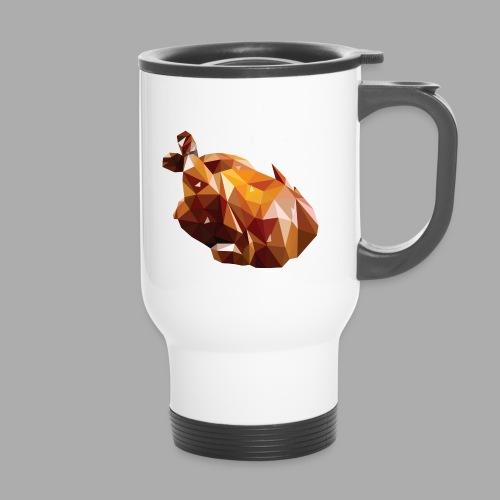 Turkey polyart - Travel Mug