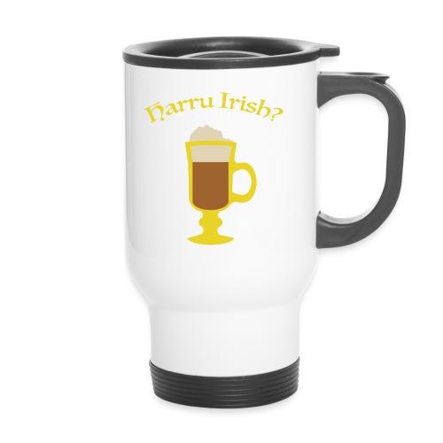 Harru Irish med kopp - Termokopp med håndtak