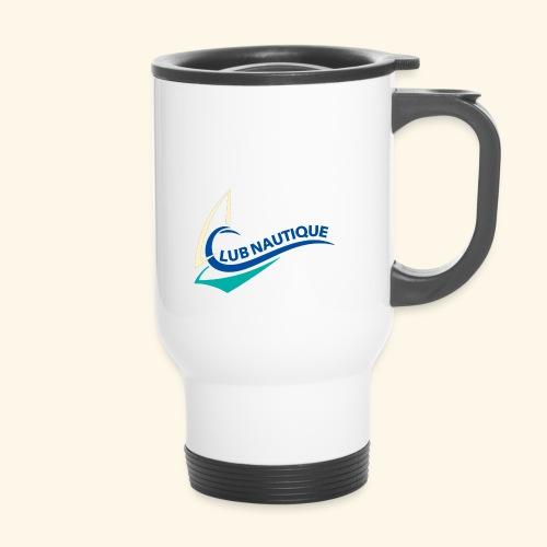 logo club nautique farbig - Thermobecher