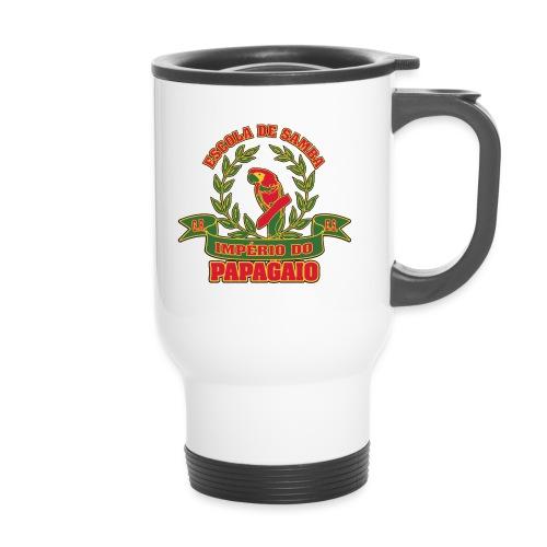 Papagaio logo - Kahvallinen termosmuki