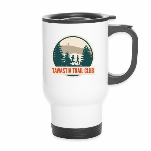 TawastiaTrailClub - Kahvallinen termosmuki