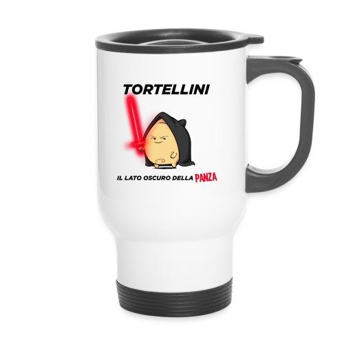 Tortellino Tshirt 2 png - Tazza termica