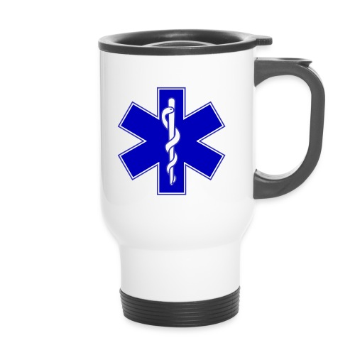 2000px Star of life2 svg png - Tazza termica