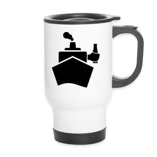 King of the boat - Thermobecher mit Tragegriff