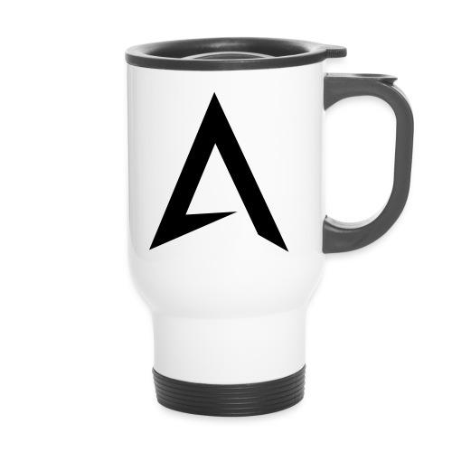 alpharock A logo - Travel Mug