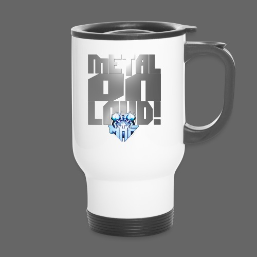 metalonloud large 4k png - Travel Mug