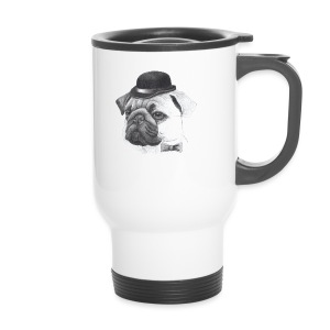 pug with bowler - Termokrus