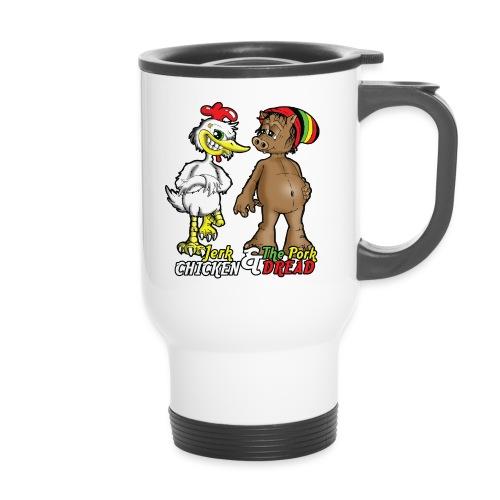 Jerk chickenPork Dread - Travel Mug