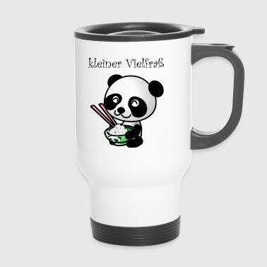 Kleiner Panda Vielfraß Geschenk Kinder Babys - Thermobecher
