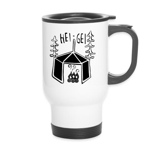 HeiGei Logo Schwarz - Thermobecher