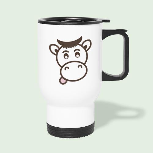 Kuh - Thermobecher mit Tragegriff