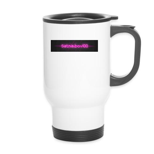 Satnavboy100 Shirt - Thermal mug with handle
