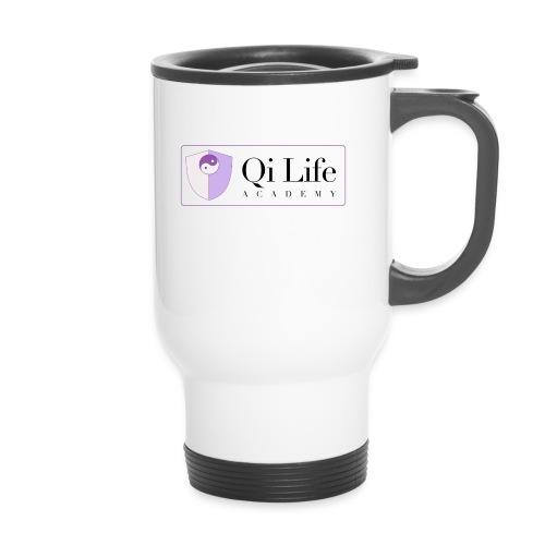 Qi Life Academy Promo Gear - Thermal mug with handle
