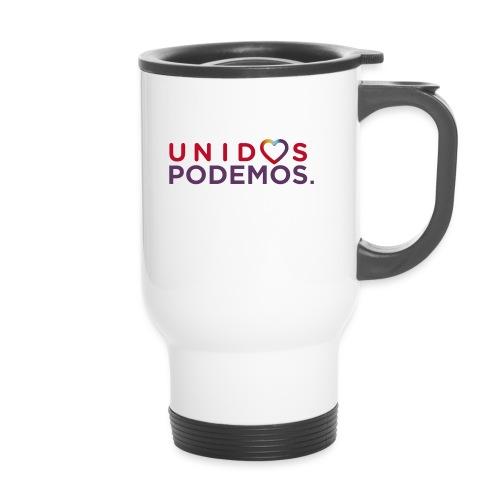 Taza Unidos Podemos 2016 Blanca - Termosmugg med handtag