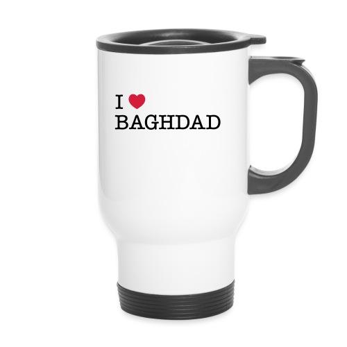 I LOVE BAGHDAD - Thermal mug with handle