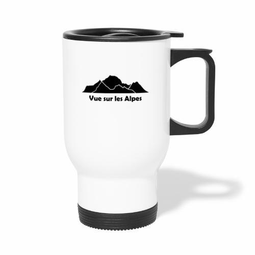 Vue sur les Alpes - Mug thermos