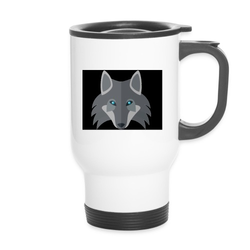 Wolf channel - Thermal mug with handle