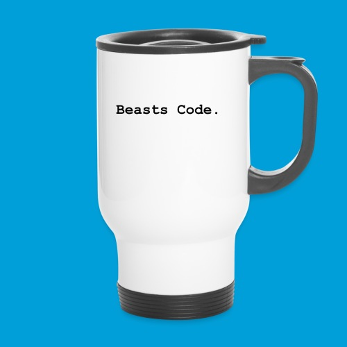 Beasts Code. - Thermal mug with handle