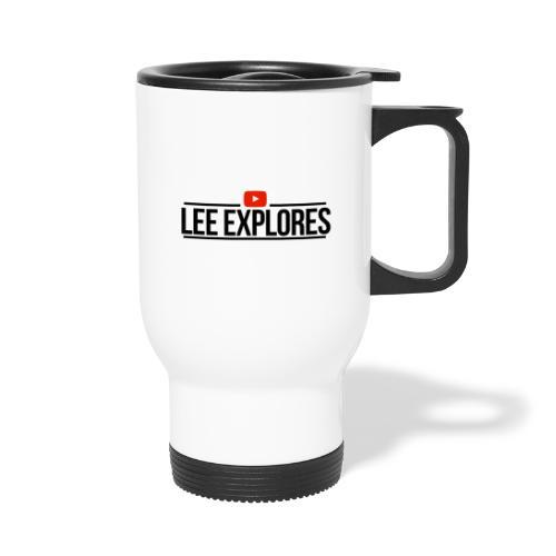 LEE EXPLORES - Thermal mug with handle