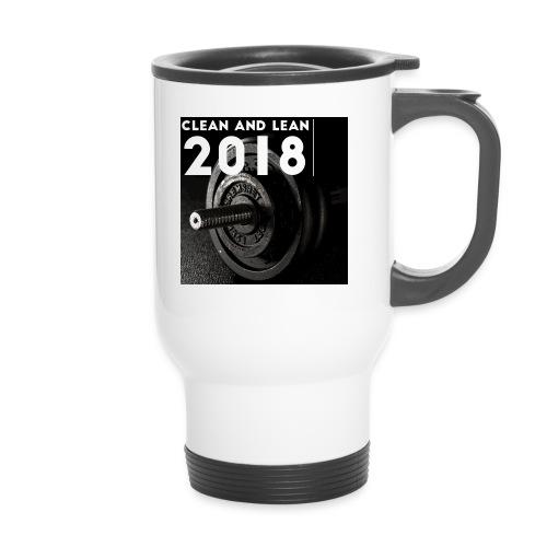 Clean and Lean 2018 - Travel Mug