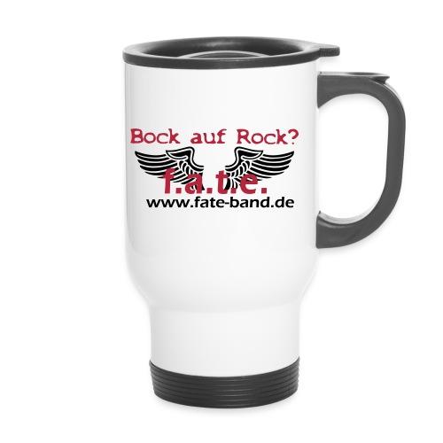fate logo spreadshirt 4 - Thermobecher mit Tragegriff