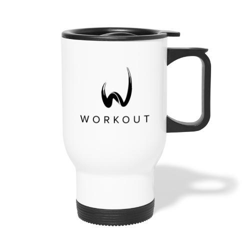 Workout - Thermobecher mit Tragegriff
