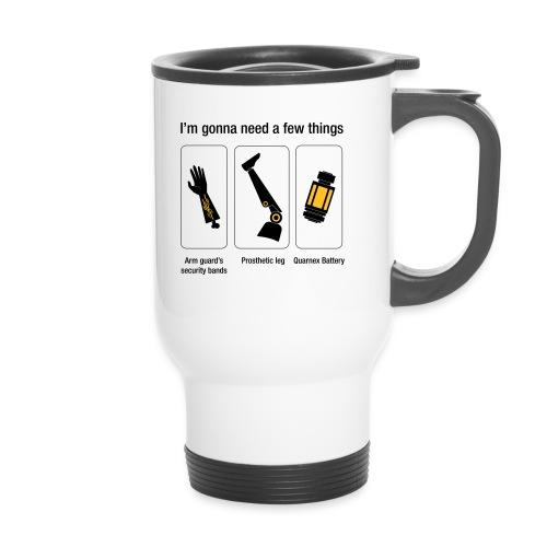 Rocket citation Few things gardiens - Mug thermos